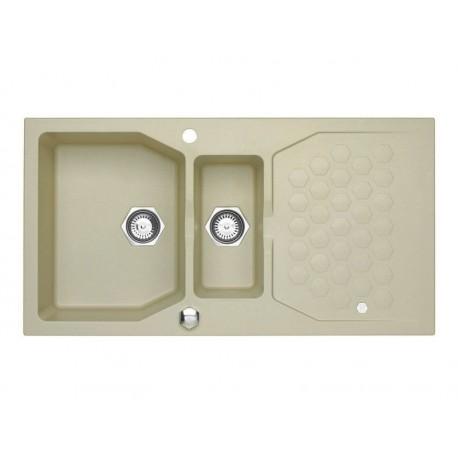 ALVEUS SENSUAL 70, granital sudoper sa daljinskim upravljanjem, za element 60 cm