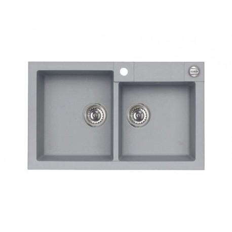ALVEUS ROCK 90, granital sudoper sa daljinskim upravljanjem, za element od 80 cm