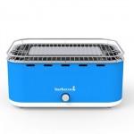 Barbecook CARLO SKY BLUE ventilatorski roštilj na drveni ugljen, nebesko plavi