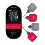 BEURER EM 59 2-kanalni digitalni TENS / EMS uređaj s funkcijom grijanja, NOVI MODEL