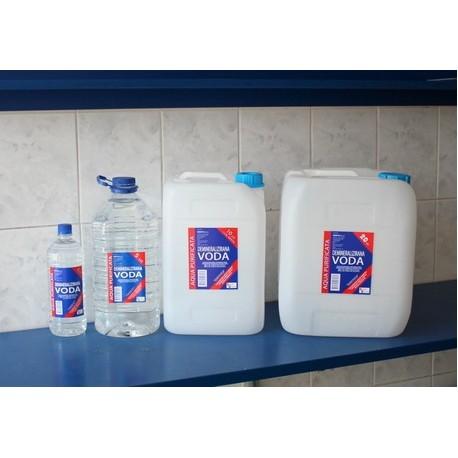 DEINERALIZIRANA VODA, 5 litara