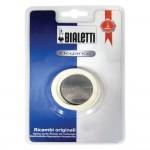 BIALETTI filter + 3 gumice za kafetijeru  2 šalice VENUS,KITTY,MUSA nije za  indukcija