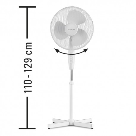 TROTEC TVE 16 , ventilator na stalju, 40 cm
