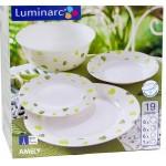 LUMINARC AMELY 19-dijelni set za jelo