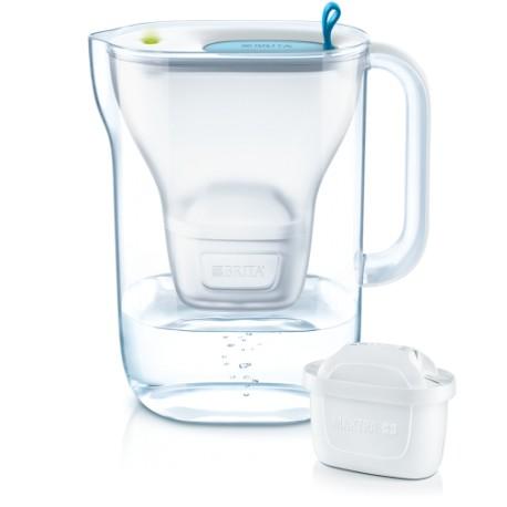 BRITA STYLE LED 4W COOL, posuda za filtraciju vode, 2.4 litre ukupno, novi ( MAXTRA+ )filteri