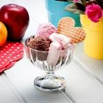 BORMIOLI ROCCO ALASKA zdjelice za sladoled, voćne kupove 2 komada