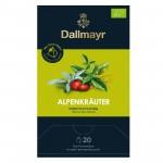 DALLMAYR Alpsko bilje čaj u piramidalnim vrećicama, 20 kom