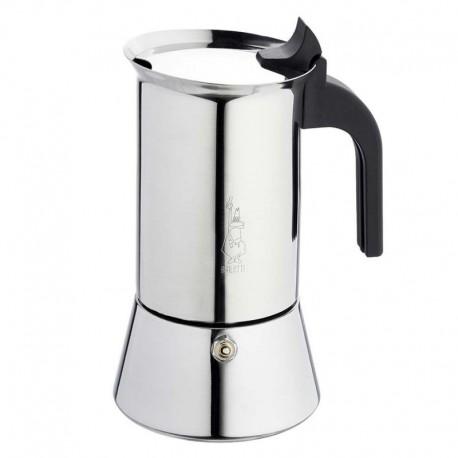 BIALETTI VENUS 6 + ILLY , inox kafetijera za 6 šalica + kava 250 grama za kafetijere