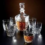 BORMIOLI ROCCO Dedalo, set za likere , 6 čaša + boca , staklo