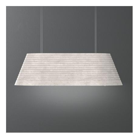 FALMEC MATERIA, otočna napa, 100 cm, 600m3h, boja betona
