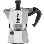BIALETTI MOKA 1 + ILLY , aluminijska kafetijera za 1 šalicu + kava mljevena 250g, za moka kafetijere