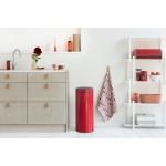 BRABANTIA 115189 Touch Bin New, 30 litara, kanta za otpad, passion crvena