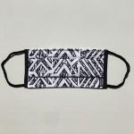 Platnena maska sa džepom za filter + 4 filtera ,višekratna, ljubičasta sa zvjezdicama