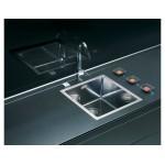 ALVEUS QUADRIX 30,  inox sudoper  za element od 45 cm( F/S ugradnja), i za element od 60 cm ( U  ugradnja )