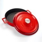 LAVA  LV Y ST 32 K2 R višenamjenski gus lonac s poklopcem, 32 cm, crvena