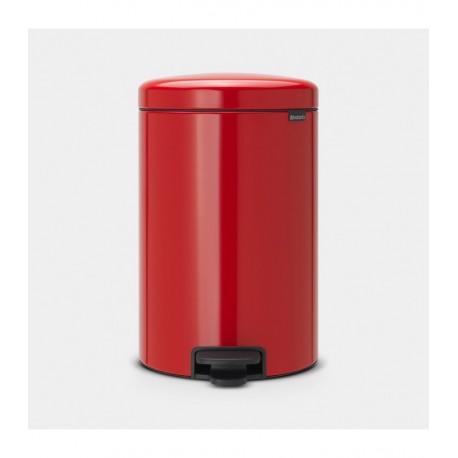 BRABANTIA 111860  Pedal Bin Newicon, 20 litara, kanta za otpad, passion crvena