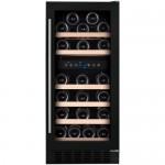 DUNAVOX DX 32.88 DBK, vinski hladnjak, max. 32 boce