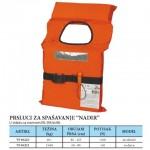 NADIR, prsluk za spašavanje za djecu težine 15-40 kg, obujam prsa 60-80 cm