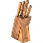 LAMART LT 2080,  stalak drveni za noževe 5/1