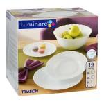 LUMINARC TRIANON 19-dijelni set za jelo
